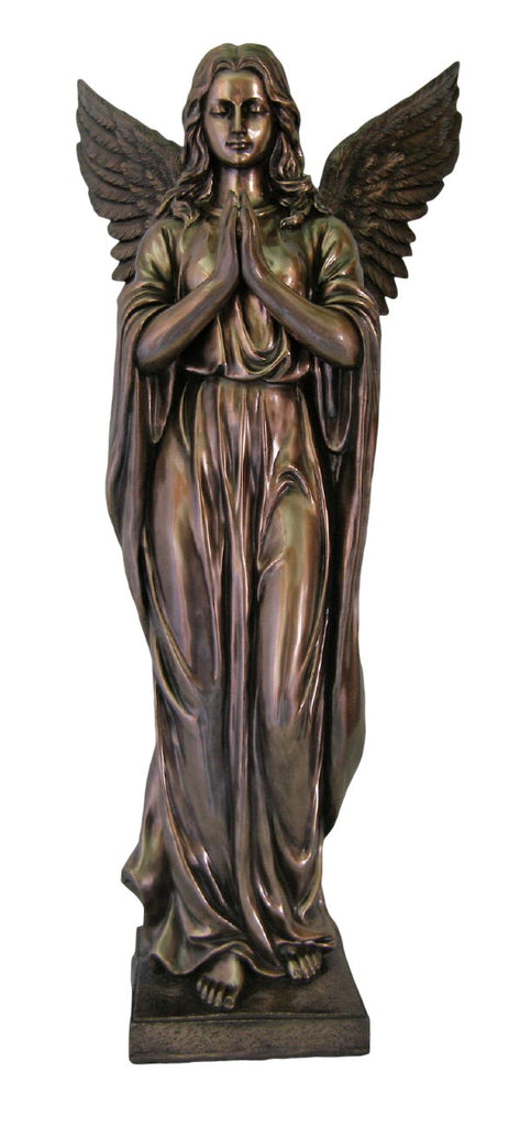 "Praying Angel Large Church size Statue   Indoors or Garden 38"" Tall"