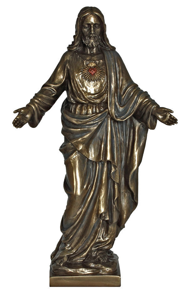 Sacred Heart of Jesus Statue With Open Arms Veronese Collection