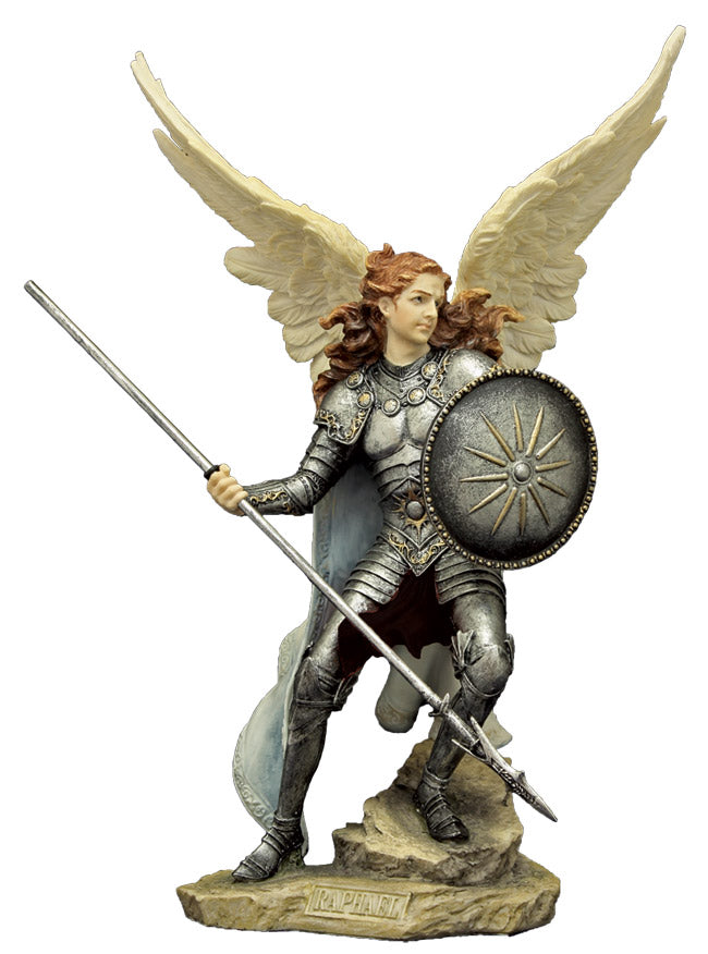 Archangel Raphael veronese full color statue