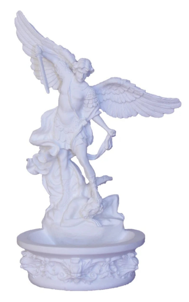 Saint Michael Holy Water Font for wall or table. Veronese collection