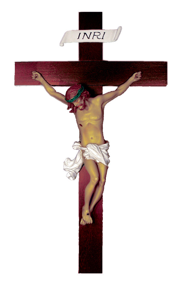 Baroque style Crucifix From Italy