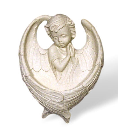 Sweet Guardian Angel Holy Water Font
