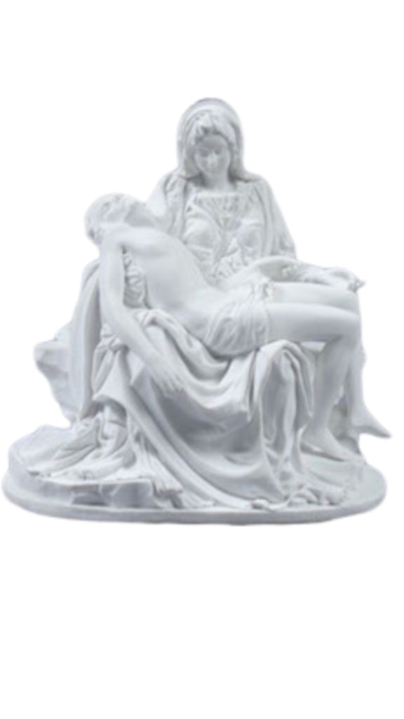 The Pieta Renaissance Style Statue by Michelangelo