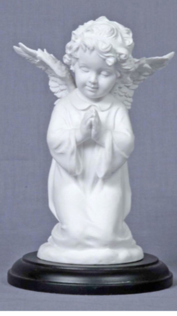 Praying Angel Statue Memorial or Angel Lovers gift