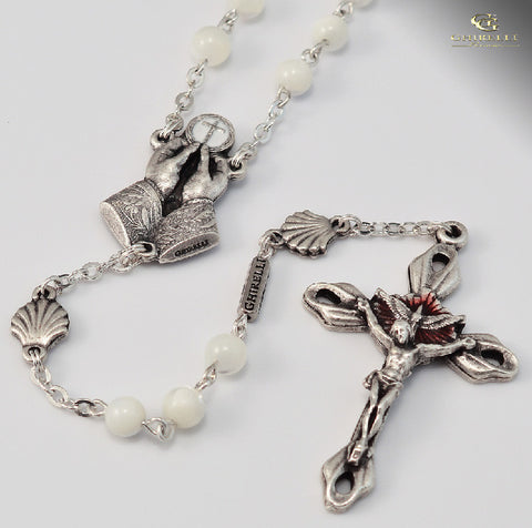 RCIA Silver Plated Rosary by Ghirelli