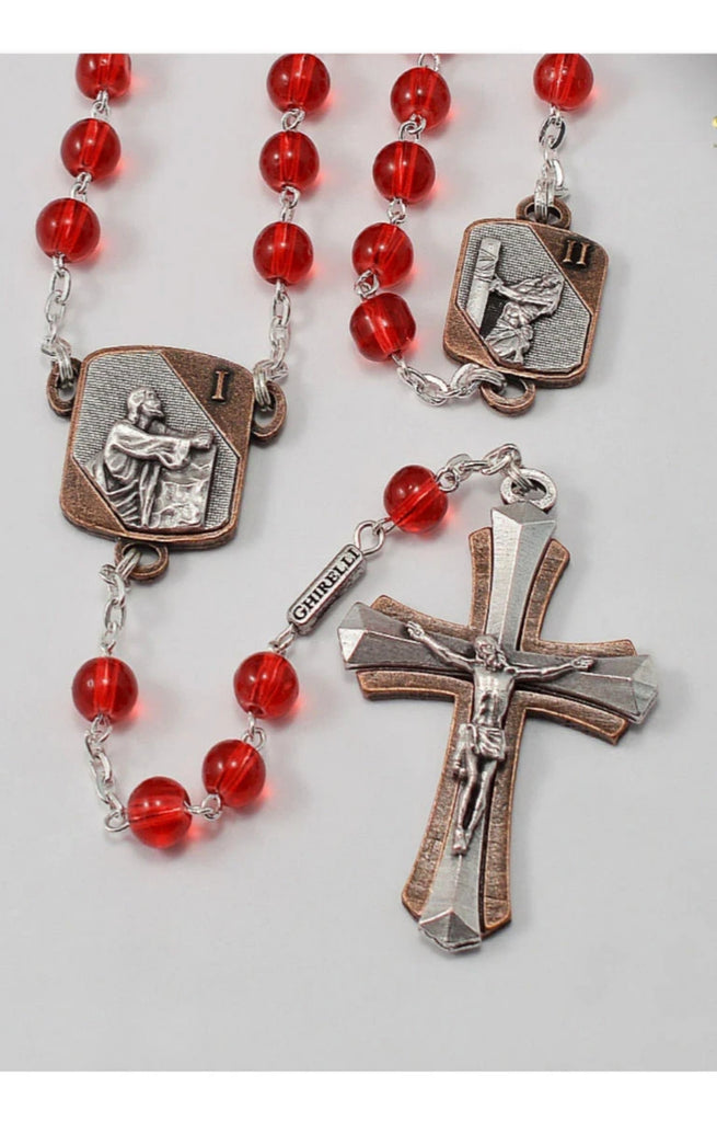 Sorrowful Mysteries Rosary By Ghirelli    Mysteries Of The Rosary Collection
