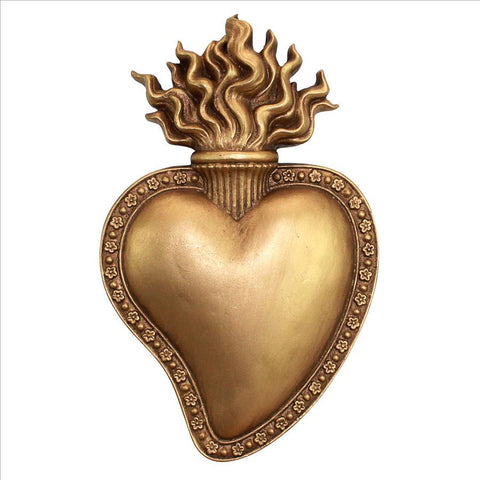 Sacred Heart Of Jesus Wall Sculpture
