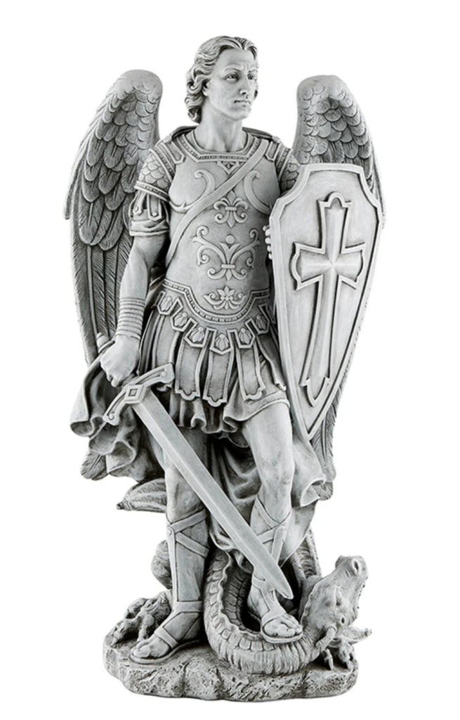 Saint Michael Archangel Warrior Statue Large Size