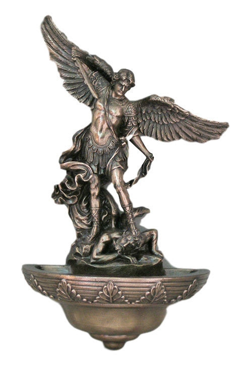 Saint Michael Holy Water Font