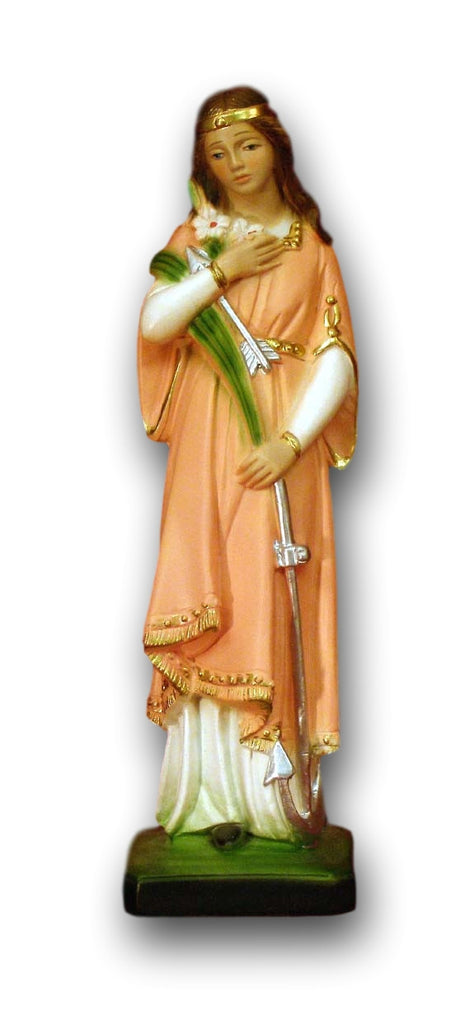 Saint Philomena Alabaster Statue From Italy