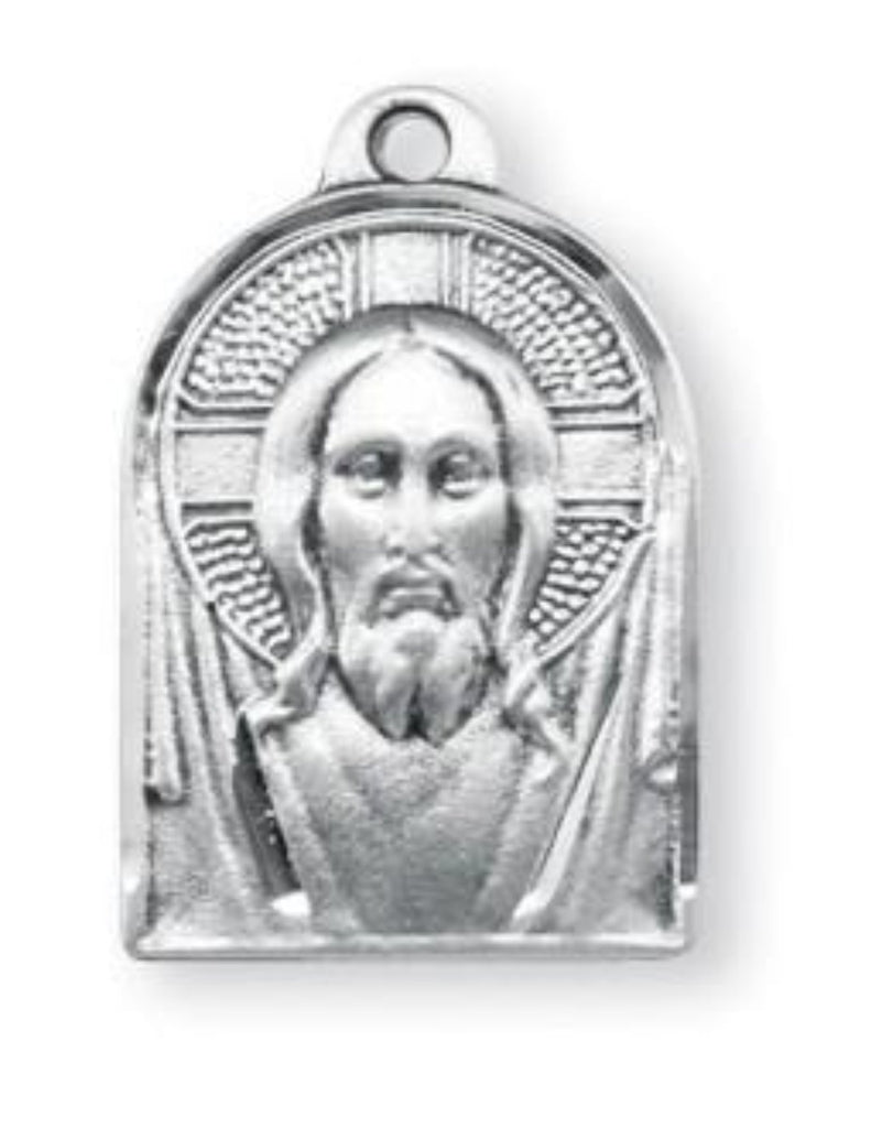 Sterling silver Jesus Meal on chain