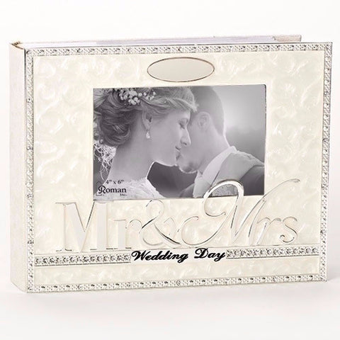 Mr And Mrs Wedding Photo Album Elegant Gift By Caroline Collection