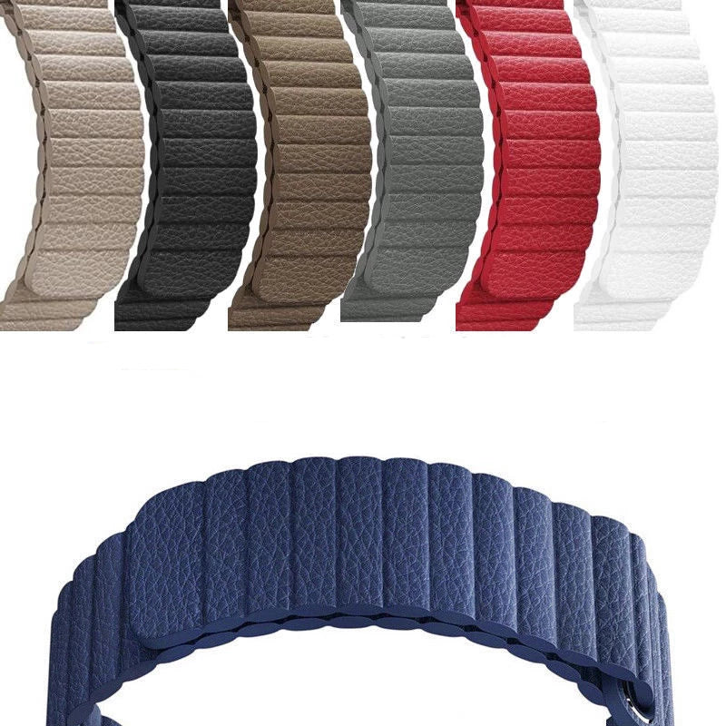 Leather Magnetic Band for Apple Watch