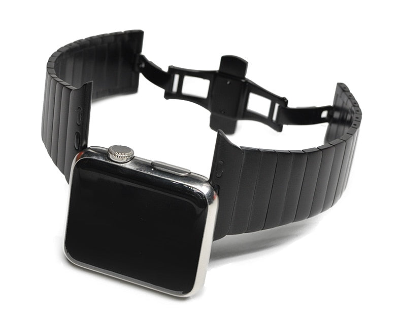 Steel Link Bracelet for Apple Watch