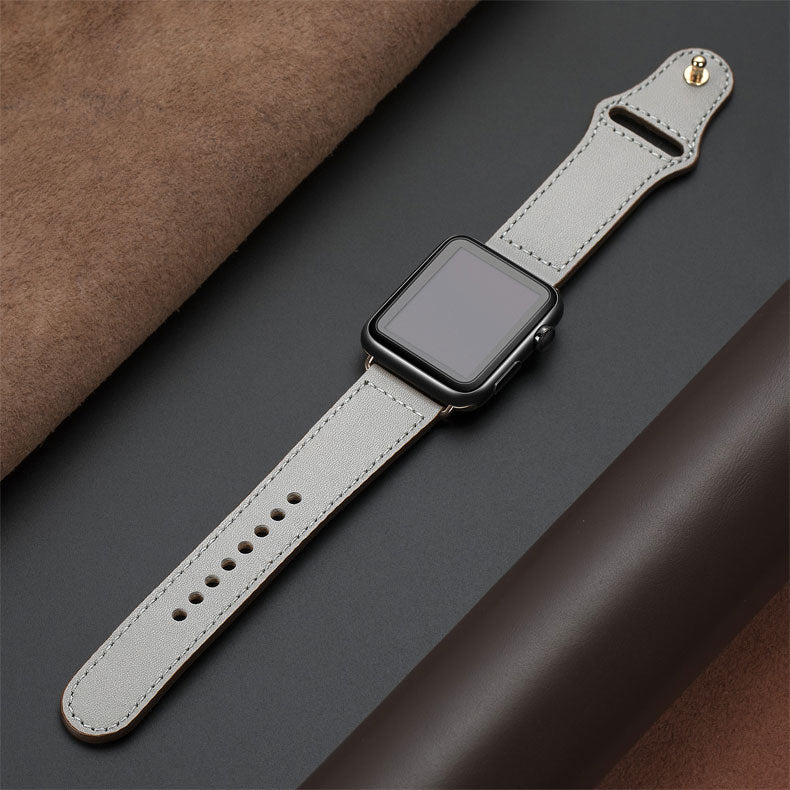 Soft Leather band for Apple Watch - allapple.store