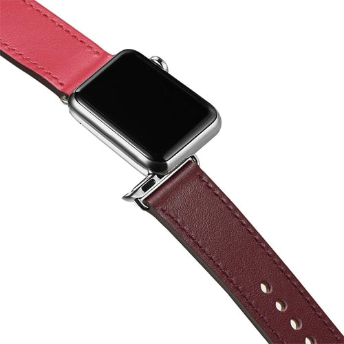 Leather Indigo Band for Apple Watch