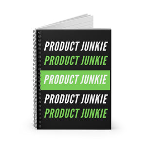 Product Junkie Spiral Notebook