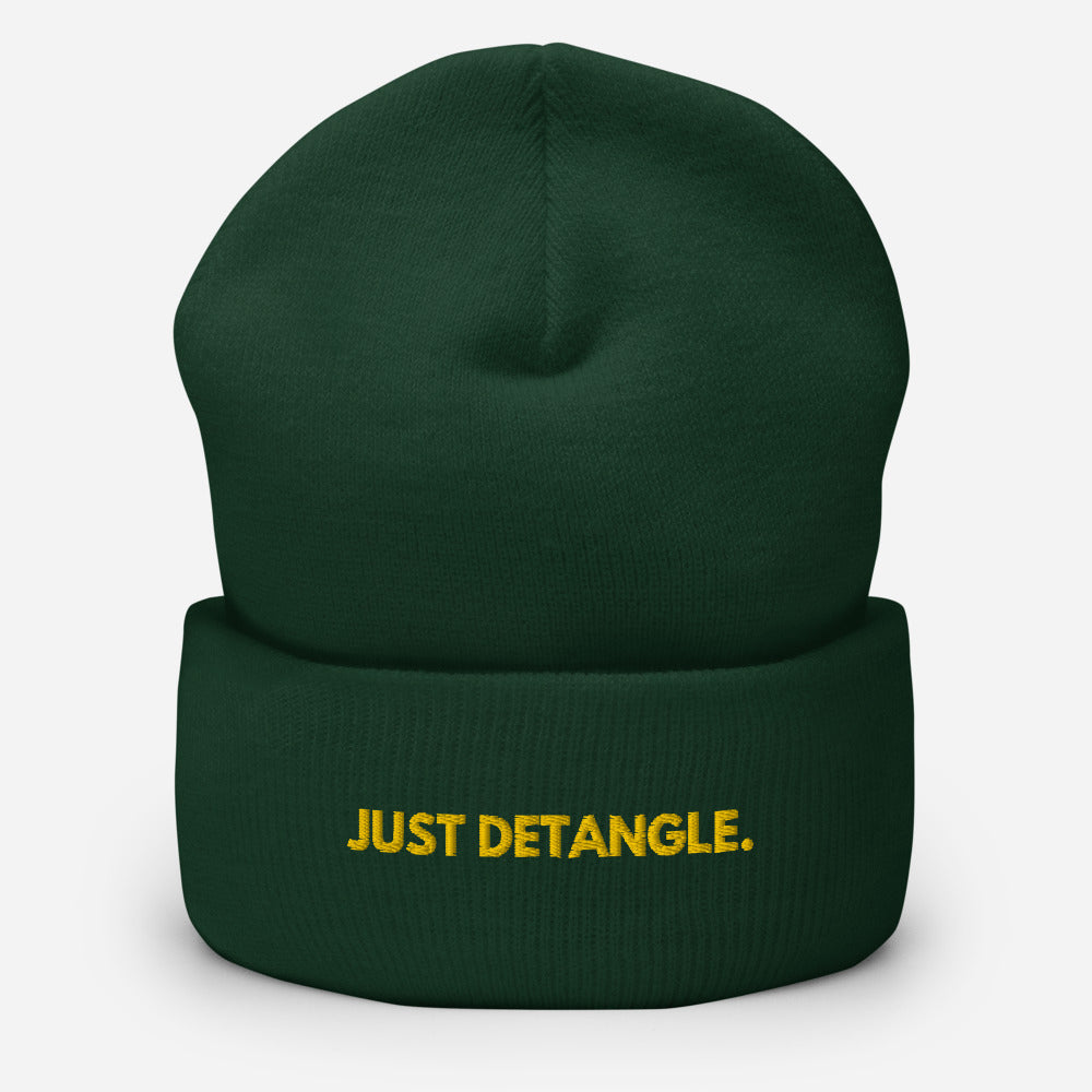Just Detangle Cuffed Beanie