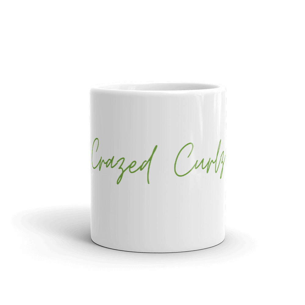 Crazed Curlz Mug