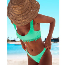 Load image into Gallery viewer, Sexy Bikini Swimwear Women Swimsuit Push Up