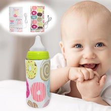 Load image into Gallery viewer, Portable USB Baby Milk Bottle Warmer