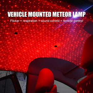 USB LED Car Atmosphere Ambient Star Light