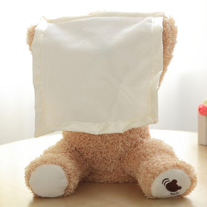Peek A Boo Plush Animated Teddy Bear