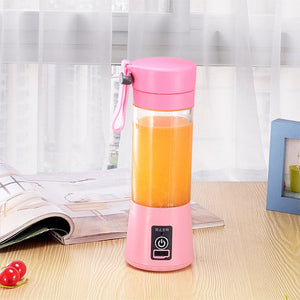 'Blend-N-Go' - Rechargeable Bottle Blender