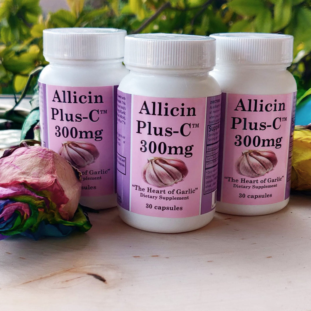 Allicin Plus C - 3 Pk ( 3 Bottles)   FREE SHIPPING