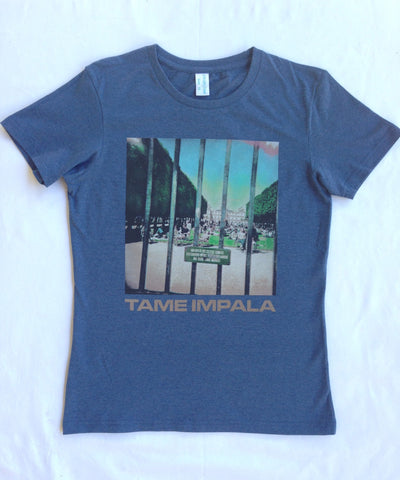 """Lonerism"" Navy Marle T Girls"