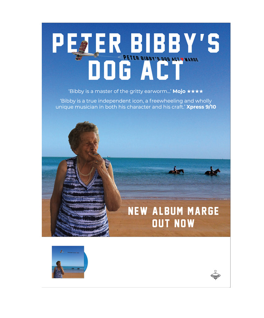 "Peter Bibby's Dog Act ""Marge"" Poster"