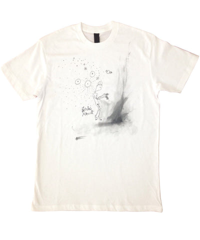 """Nicholas Allbrook"" white t-shirt - Guys"