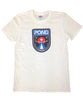 """Space Logo"" White T Guys"