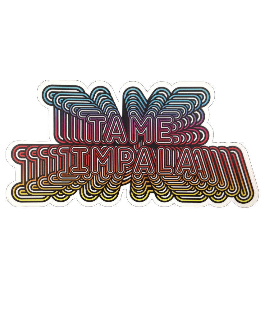 """Tame Impala Zoom"" sticker"