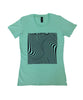 """Wave Square"" T-shirt - Girls"