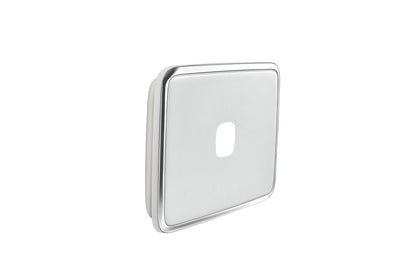 Light Switch Cover -1 Gang - Ghost Grey