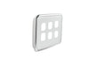 Light Switch Cover - 6 Gang - Ghost Grey