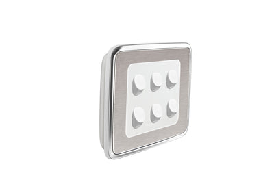 Universal Cover Plate - Brushed Stainless Steel