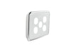 Light Switch Cover - 5 Gang - Ghost Grey