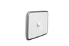 Clipsal Classic 1 Gang Light Switch with Silver White Cover