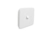 Clipsal Classic 1 Gang Light Switch with White Basic Cover