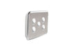 Clipsal Classic 5 Gang Light Switch with Brushed Stainless Steel Cover