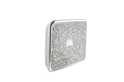 Light Switch Cover - 1 Gang - Hammer Metal