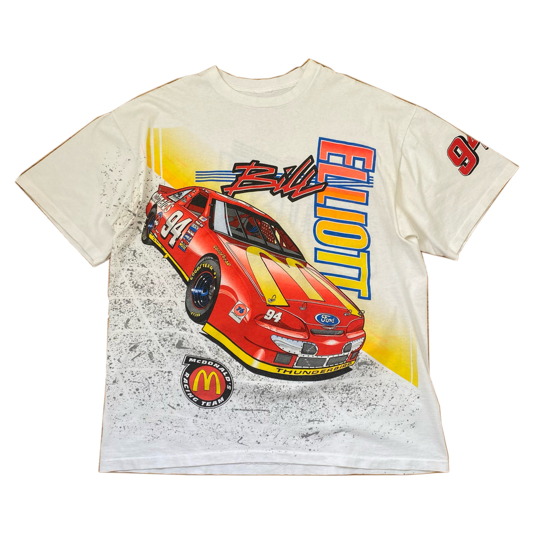 '95 McDonald's/ NASCAR Bill Elliott shirt Sz XL