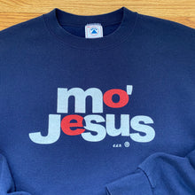Load image into Gallery viewer, 90s Jesus / Mo' Money movie parody crewneck sweatshirt Sz XL