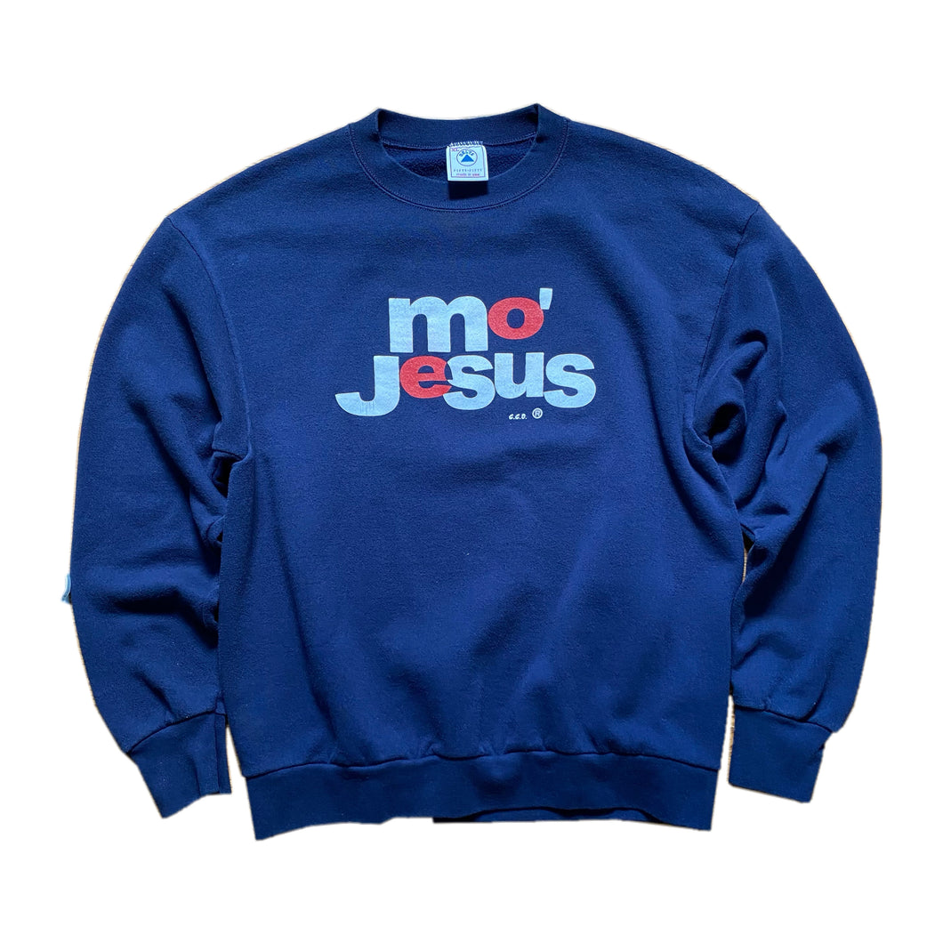 90s Jesus / Mo' Money movie parody crewneck sweatshirt Sz XL