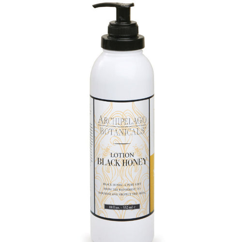 Archipelago black honey body lotion