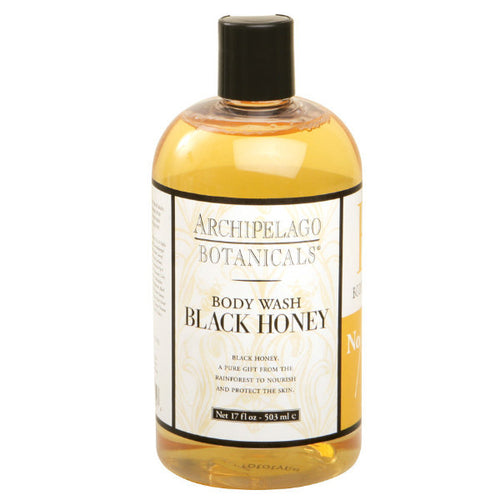 Archipelago black honey body wash