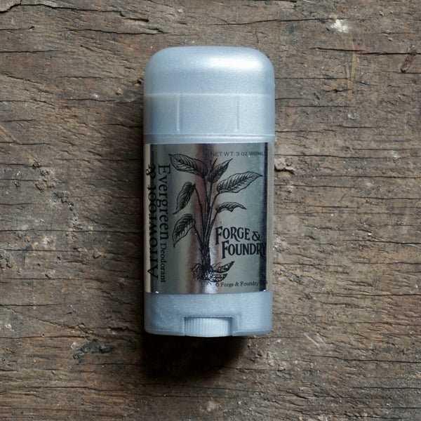 Deodorant | Arrowroot & Evergreen