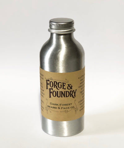 Forge and Foundry's classic beard oil.